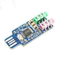 CM108 USB Driver Free Soundkarte Laptop PC Computer Externe Soundkarte Modul|module|module usbmodule sound -