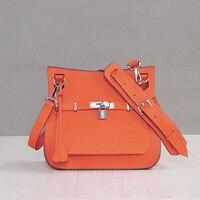 2017 Lock Lags Handbags Women Famous Brands Saddle Designer Handbags High Quality Hasp Single Crossbody Bags
