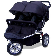 Twin stroller suspension horizontal twin stroller twin baby stroller