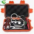 YENI Açık Acil Durum Ekipmanı SOS Kiti ilk yardım kutusu Malzemeleri Alan Kendi Kendine yardım Kutusu Kamp Seyahat Için Survival Dişli alet setleri