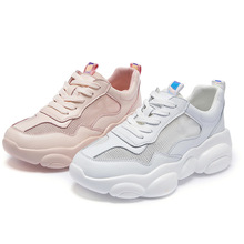 Zhenwei  Summer Women Sneakers Shoes Hollowed-out Womens Student Pink Serie Panda Bear