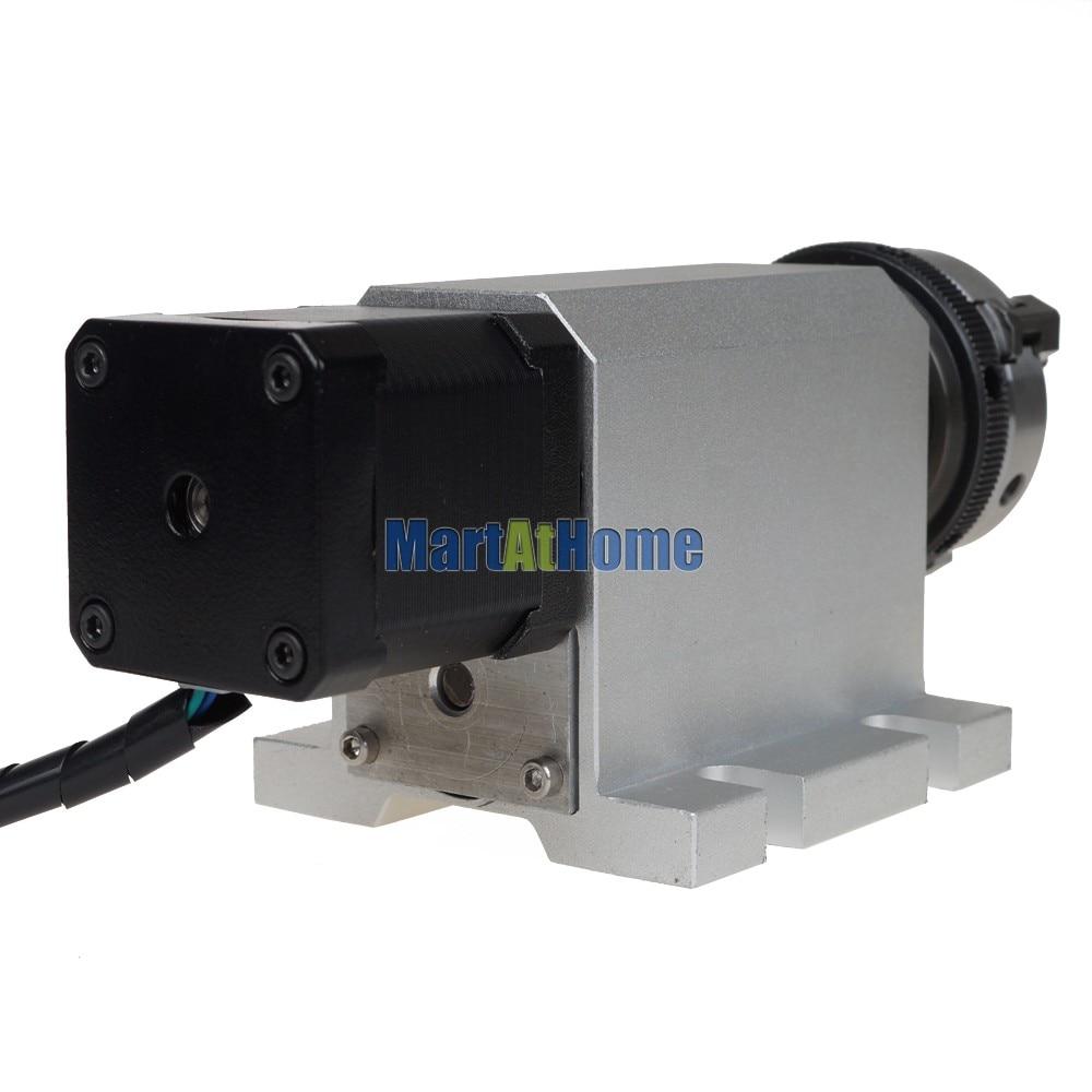 DIY CNC A Eje giratorio 4to eje tipo L para enrutador CNC, fresadora - Maquinaría para carpintería - foto 3