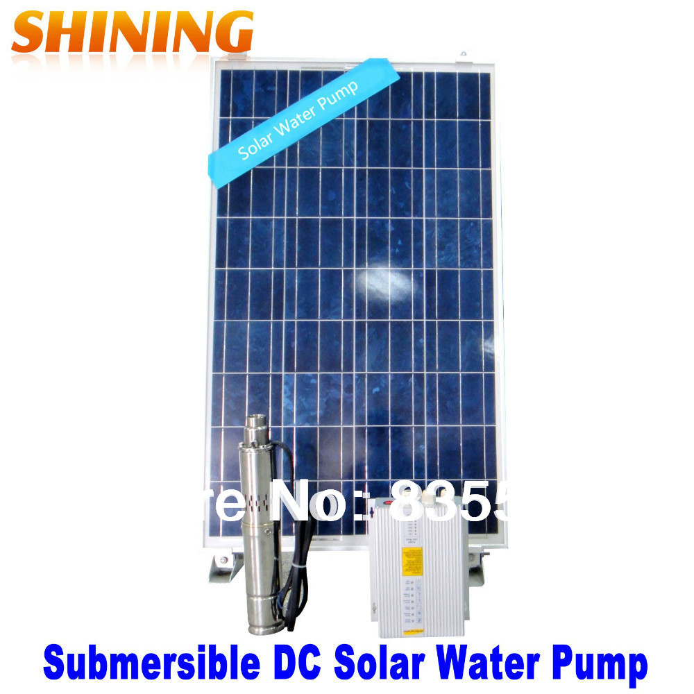 Solar Dc Submersible Water Pump Solar Pumping System