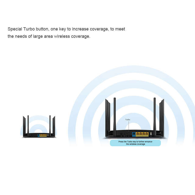 TP-LINK WDR7500 Wifi Router Wi-Fi Repeater 2 4/5GHz Dual Band Wireless  Router Wifi Extender 6 Antenna USB 2 0 port