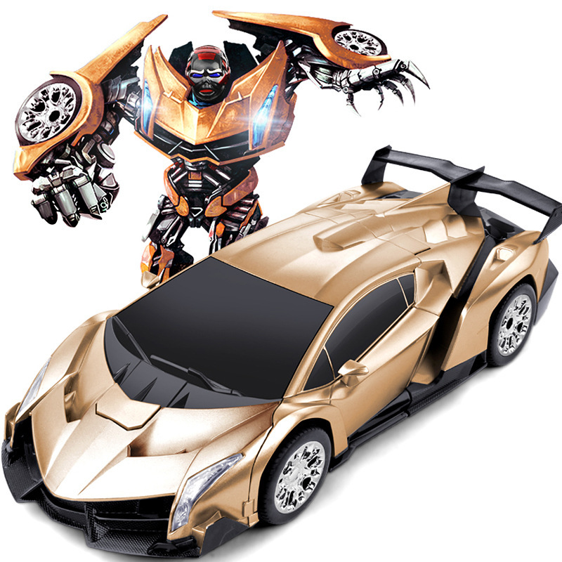 Remote control car,A key control deformation car people,Deformation of the robot,Childrens toys