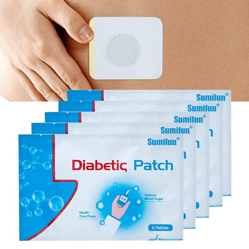 Diabetische Patch Diabetes Heilen Unteren Blut Glucose Behandlung Pflanzliche Diabetes Pactch Zucker Balance Gips 5 Taschen = 30 stücke/ 10 taschen = 60 stücke