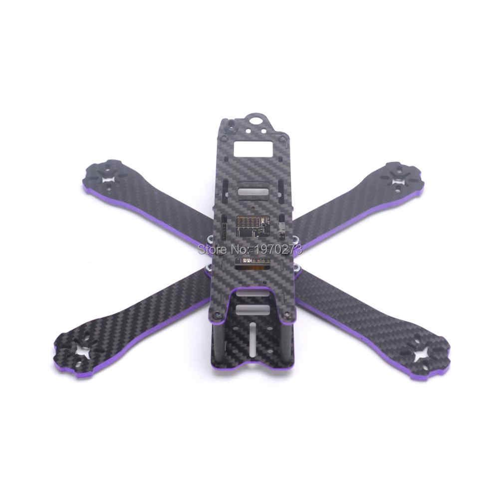 X220 220mm fibra de carbono X tipo Kit de Marco con brazo de 4mm para los modelos de control remoto multicóptero Motor ESC mejor que QAV-R 220 QAV250