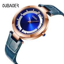 Watch Women OUBAOER Luxury Brand Quartz Casual Simple Fashion Bracelet Watch Ladies Wrist Watch for Women Relogio Feminino