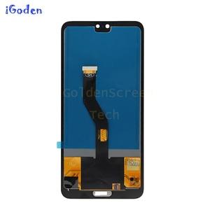 """Image 3 - TFT dla Huawei P20 Pro wyświetlacz lcd ekran dotykowy Digitizer zgromadzenie P20 Pro lcd z ramą 6.1 """"dla Huawei p20 pro ekran wymienić"""