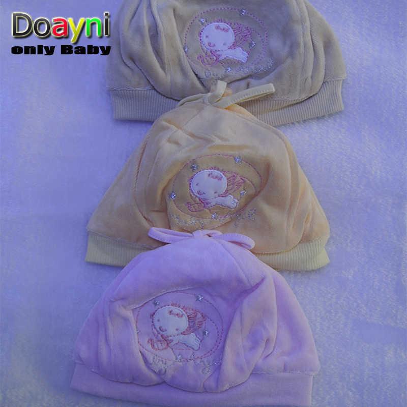 Doayni Bambino Neonato Cappelli Del Fumetto Rana/Orso e Lettere Decration Bambino bambini Caps Rosa grigio giallo blu M L per 0 a 12 M