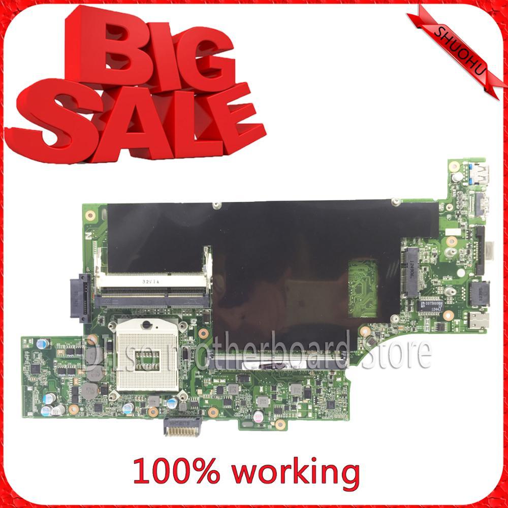 KEFU G53SX motherboard For ASUS G53SX VX7 VX7S Laptop motherboard G53SX VX7 mainboard REV2.0 original tested motherboard hot for asus x551ca laptop motherboard x551ca mainboard rev2 2 1007u 100% tested new motherboard