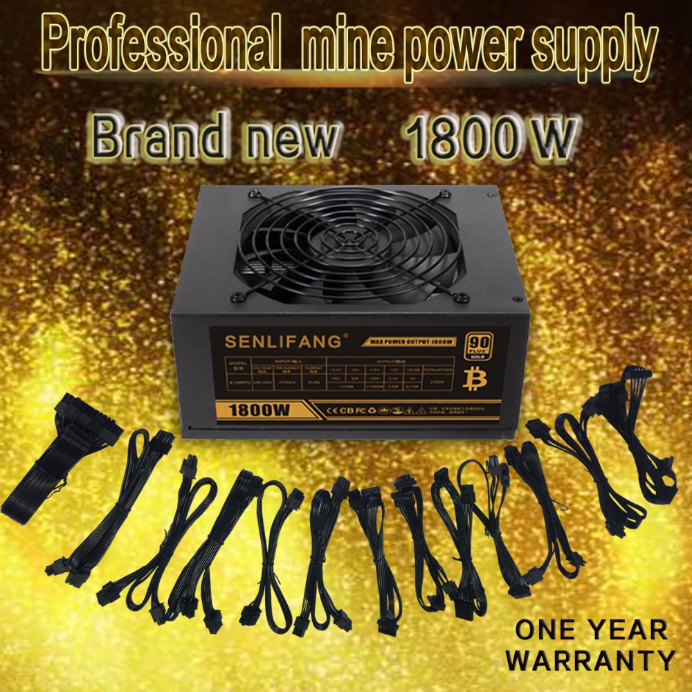 SENLIFANG ETH miners PSU GOLD 90 support 8 card Full module operation Applicable to ETH ETC ZEC ZCASH DGB XMR DHL Free shipping free shipping saw palmetto extract 1000 mg 90 softgels used to support prostate