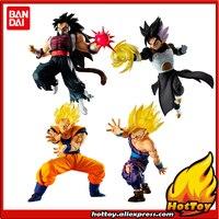 100% Original BANDAI Battle VS Gashapon Toy Figure Part 11 Full set 4 Pcs Cumber Goku Gohan Gotenks from Dragon Ball SUPER