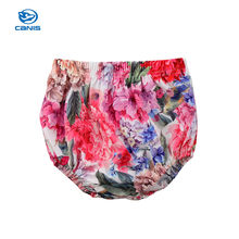 2018 Fashion Newborn Kids Baby Girls Floral Bottoms PP Pants Shorts Summer Cute Sweet Custom Clothes(China)