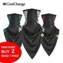 CoolChange Half Face Bike Mask Cycling Scarf Bandana Outdoor Sports Bicycle Motorcycle Racing Triangle MTB Ride Headwear