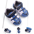 New Fashion Lovely PU Leather Baby Boys Prewalker Shoes Infant Toddler yellow stars Baby Moccasins First Walkers Boots Footwear