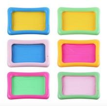 1 PC 60 * 45 CM Gonflable Sable Bac Sandbox Enfants Intérieur Jouer Argile de sable Jouets Accessoires pour Coloré Boue Enfant jouet