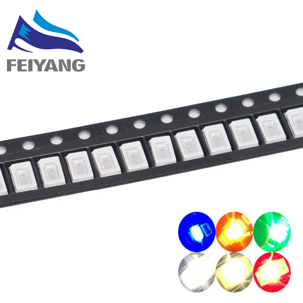 Back To Search Resultselectronic Components & Supplies Search For Flights 200pcs For Sharp Led Backlight High Power Led 0.8w 2828 6v Cool White 43lm Gm2cc3zh2eem Tv Application
