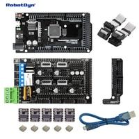 3D printer & CNC KIT1. MEGA 2560 + RAMPS 1.4 + DRV8825 (5pcs) + MicroUSB cable (50cm) compatible for Arduino and RepRap projects