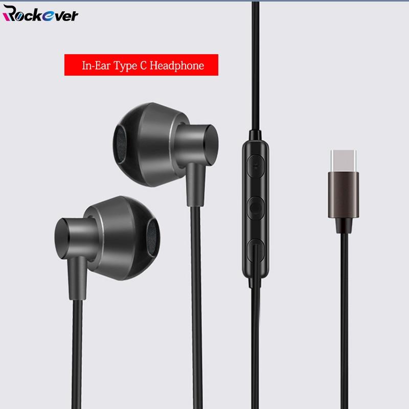 USB TYPE C Earphone Stereo Bass Metal Earbud Mic/Remote Control For XIAOMI Mi 6/6X/8 SE/Mix 2 2S/Note 3 Nubia Z17/Z17S Nokia 8 wierss серый для xiaomi mi 8 se