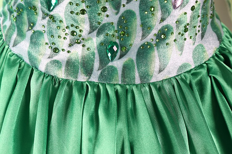 2016-summer-green-elsa-costumes-Girls-Cosplay-party-Dresses-Princess-anna-dress-vestidos-de-festa-meninas-for-children-4