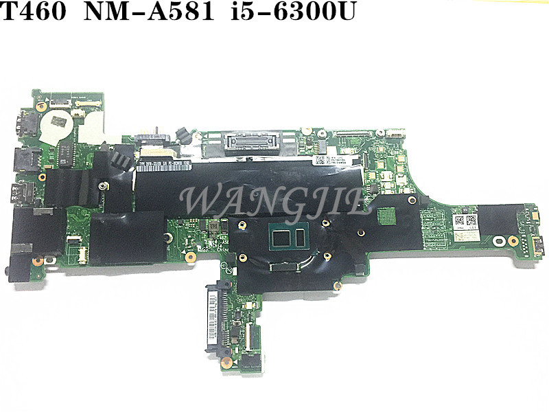 US $200 0 |for THINKPAD T460 for Lenovo t460 Laptop motherboard i5_6300U  FRU:01AW336 NM A581-in Laptop Motherboard from Computer & Office on