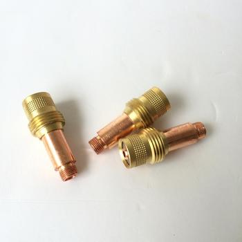 Tig Torch Consumable WP 17 WP 18 WP 26 1.6 mm 2.4 mm 3.2 mm Gas Lens Collet Body 18 pcs tig welding torch gas lens kit wp 17 wp 18 wp 26 wl20 0 04 1 16 3 32