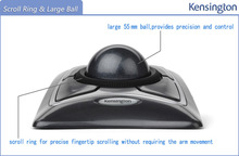 Kensington Original Trackball Expert Mouse Optical USB