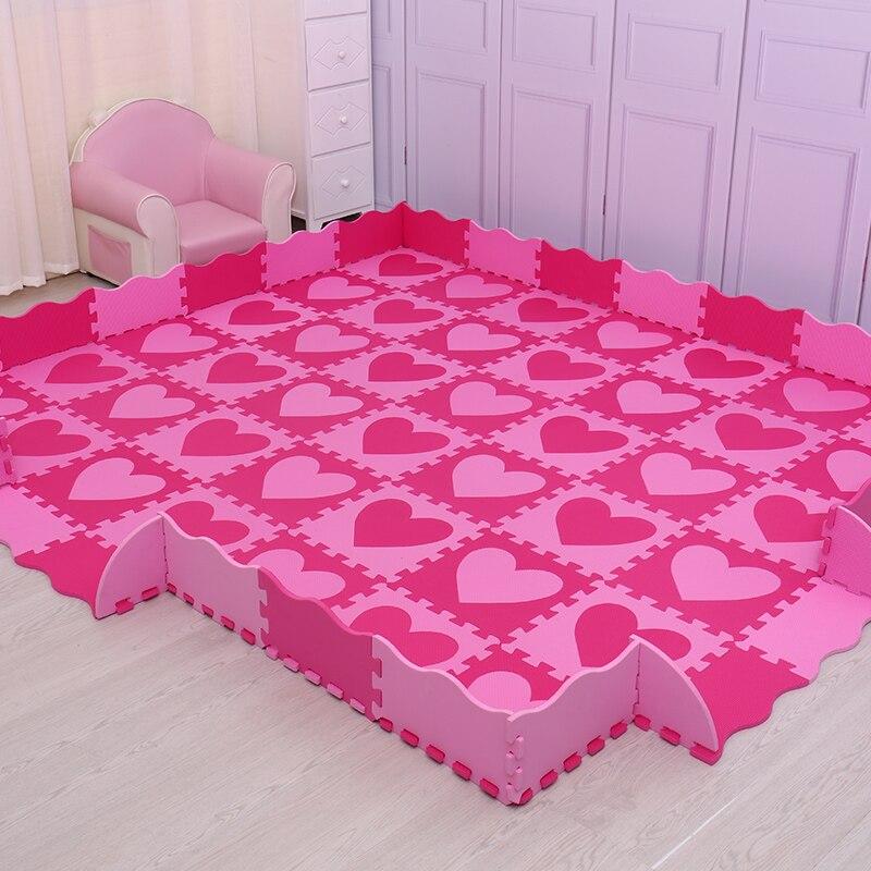 Mei qi cool 30 см * 30 см * 1 см игровой коврик eva материал детский игровой коврик из пенопласта детский коврик-пазл ковры и коврики