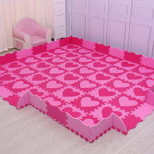 Mei qi cool 30cm*30cm*1cm playmat eva material baby play mat foam flooring kids baby pad mat puzzle carpets and rugs(China)