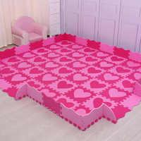 Mei qi cool 30cm*30cm*1cm playmat eva material baby play mat foam flooring kids baby pad mat puzzle carpets and rugs