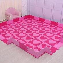 Mei qi cool 30cm 30cm 1cm playmat eva material baby play mat foam flooring kids baby