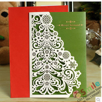 folded christmas photo cards