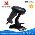 SM-2108 Auto-sensor de Alta Qualidade Portable USB Laser Barcode Scanner de código de Barras Código De barras Leitor Frete Grátis Drop Shipment