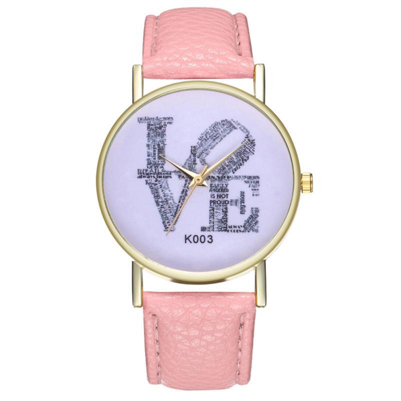 Temperament Casual Clock Simple Souvenir Birthday Ladies WristWatch 2018 Gifts Student Beautiful Unisex Women's Quartz Watch #D
