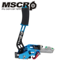 Universal aluminum Racing handbrake Car Hydraulic Handbrake drift hand brake parking color blue/black