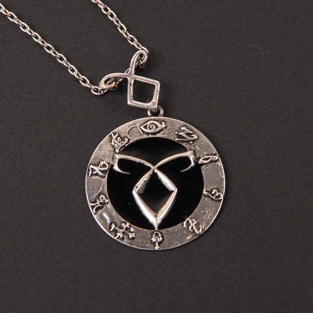 The Mortal Instruments Inspired Angelic Power Rune Symbols Necklace