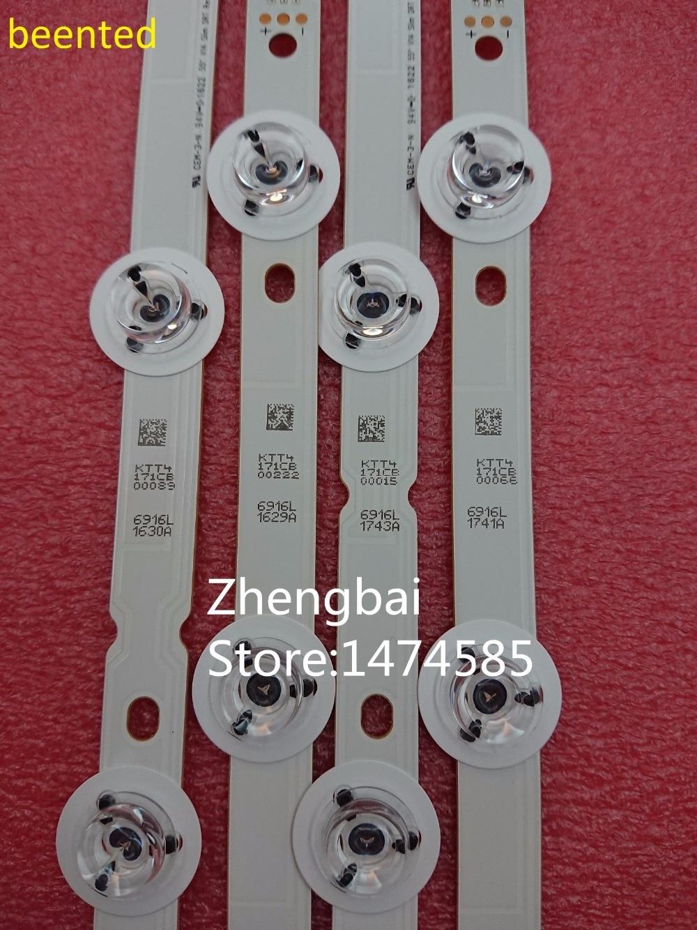 New 12pcs LED Backlight Strip For LG 55LB7200 55LB7000V 55LB676V LC550DUH-PGF1 6916L 1629A 1630A 1741A 1743A 55LB677V 55LB679V