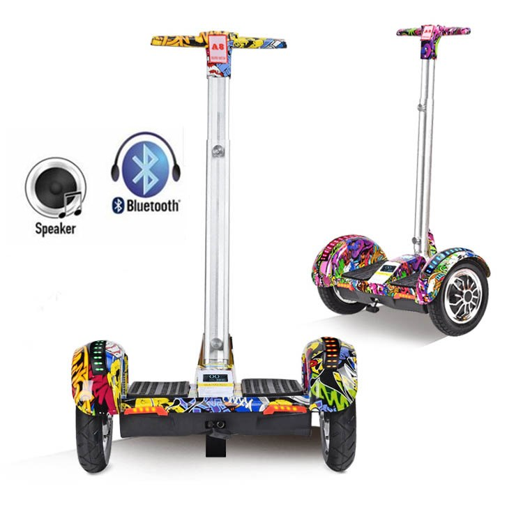 2018 New 10inch Hoverboard Electric Scooter self Balancing scooter Smart two wheel skateboard