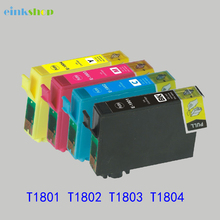 1set For Epson T1801-T1804 Ink Cartridge for XP 30 102 202 205 302 305 402 405