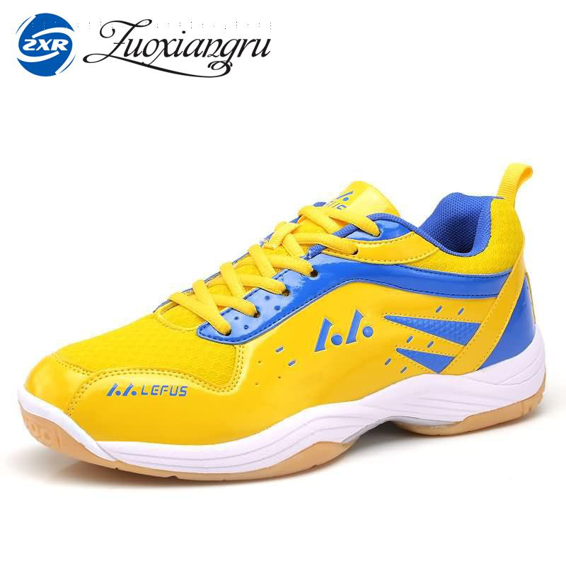 Zuoxiangru Badminton Shoes Men Sneakers Professional Trainers Women Athletic Sport Shoes Outdoor