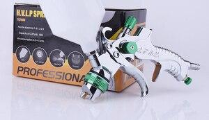 Image 2 - Pulvérisateur de peinture à Air, Mini HVLP, pistolet à Air pour réparation de voiture, tactile, détail, 1.4mm, 1.7mm, 2.0mm
