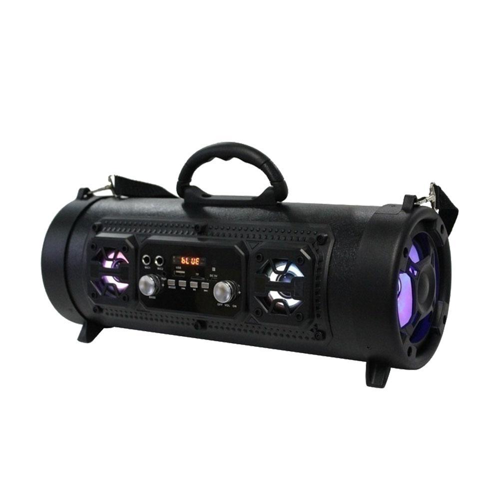 new outdoor portable bluetooth speaker cool punk rock music box subwoofer insert microphone dj. Black Bedroom Furniture Sets. Home Design Ideas
