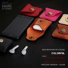 CelBro Leather Case For Apple Airpods