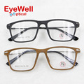 Acetate optical frame with alloy legs high quality unisex big frame eyeglasses most popular M9625
