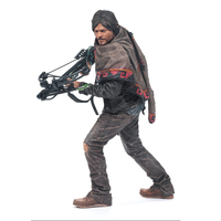 AMC TV Series The Walking Dead Figure Daryl Dixon Action Figure Daryl With Crossbow PVC Toy 25cm