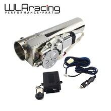 WLR Racing universel 2.5 ou 3 tuyau déchappement électrique I coupe circuit déchappement avec télécommande vanne de gros