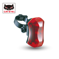 CATEYE Bicycle Safety Rear Fork Light Cycling Durable Tail Light Seat Tube Seatpost Flashing Light 3