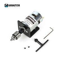 Mini perceuse électrique à percussion à mandrin 24V 10000rpm 775 à moteur à roulements à billes Mini perceuse à main PCB 0.3 ~ 4mm JTO Miniature