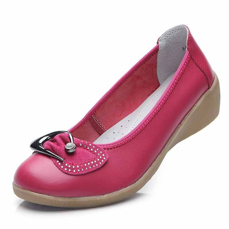 7ba738aa80b26 ODEMA 2014 New summer designer flat shoes women fashion casual shoes  genuine leather ladies shoes crystal single shoes-in Women's Flats from  Shoes on ...